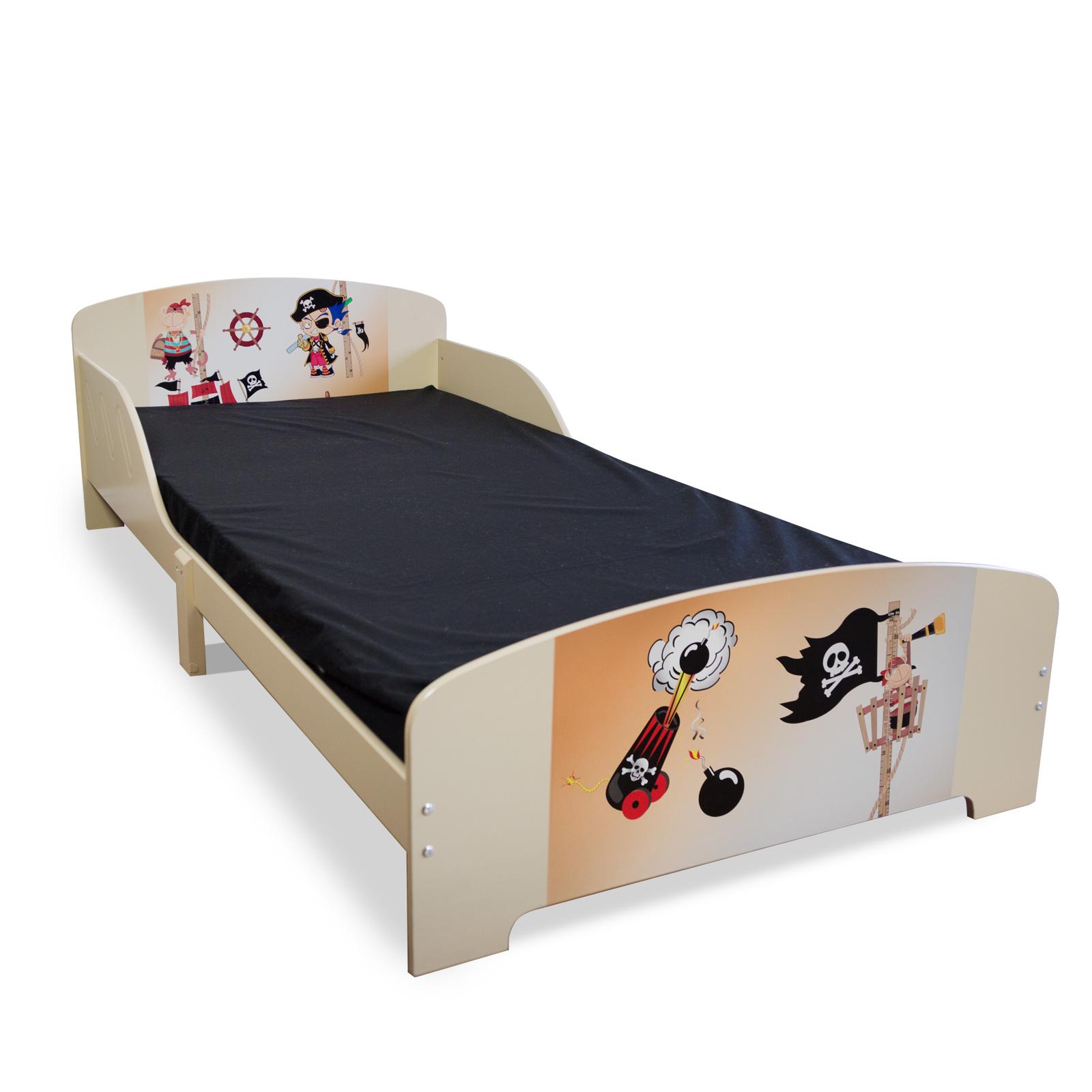Kinderbett 90x200 Jugendbett Spielbett Juniorbett Lattenrost Bett Kinderzimmer