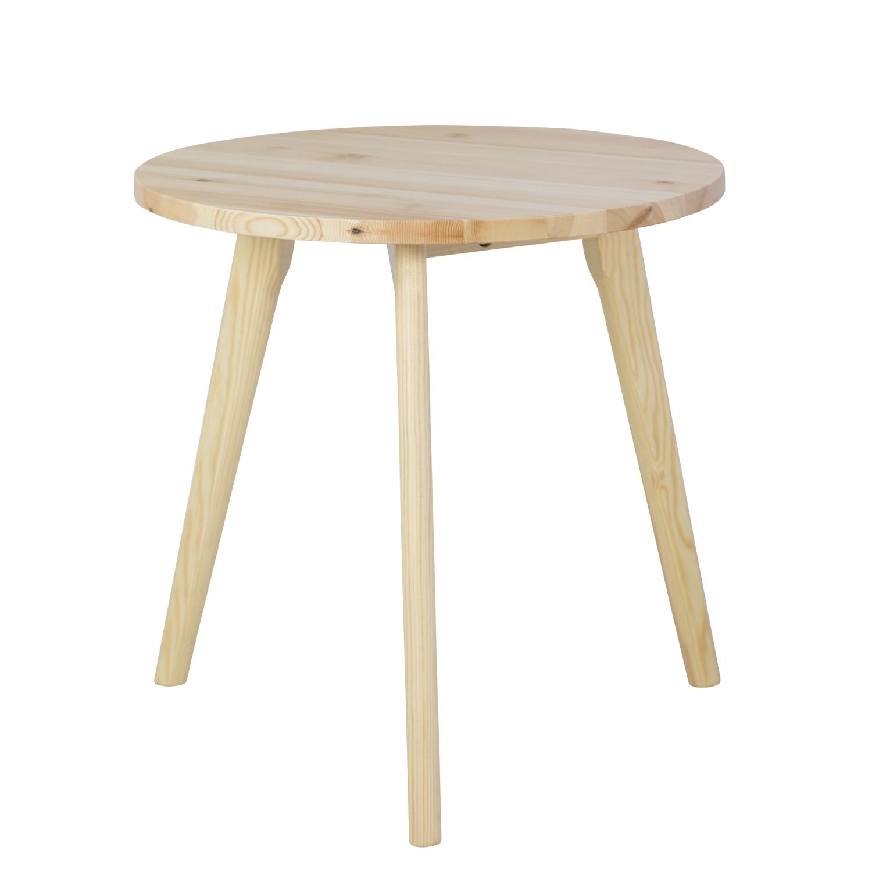 Table Basse Petite Table Ronde Bois Naturel 45 Cm Table De Chevet