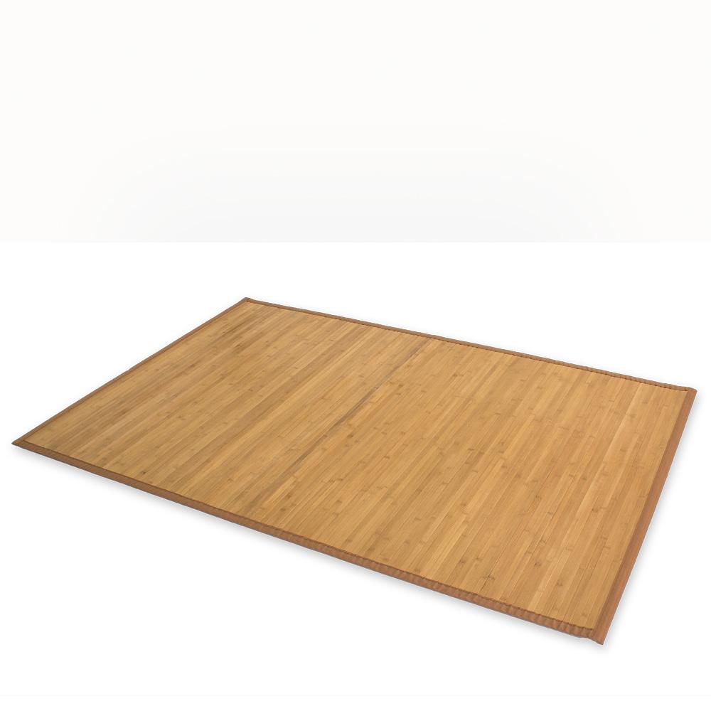 Bambusmatte Bambusteppich Teppich Bambus 200 x 250 cm braun Läufer Vorleger